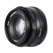 Meike 50MM APS-C F2.0 Lensa Kamera for Sony Mirrorless Black