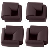8pcs Thick Table Corner Cushion Anti-crash Baby Safety Guard Gray BROWN