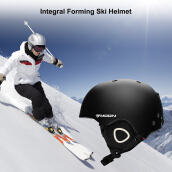 Moon Skiing Helmet Adult Kid Equipment Autumn Winter Snow Skating Sports Integrally-molded Outdoor Ultralight Matte Saftly Snowb
