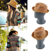 [Kingstore]Women's Beach Hat Provence floppy Elegant Bohemia Straw Sun Cap Multi Color
