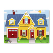 MELISSA & DOUG Around the House Sound Puzzle MD-734