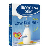 TROPICANA SLIM Low Fat Milk Vanilla 180g