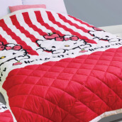 PILLOW PEOPLE Quilt Blanket  Hello Kitty - Hk Red Apple/150x210