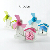 Fashion Multifunction 3 in 3 Mini USB fan with photo frame & pen holder
