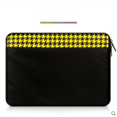 JDS S-1102154 handbag for 15.4inch Laptop Ipad black&yellow color
