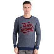3SECOND Typo Sweater - Grey