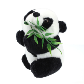BESSKY Christmas Gift Baby Kid Cute Soft Stuffed Panda Soft Animal Doll Toy- Black