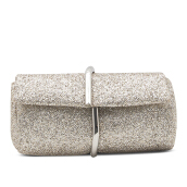 HUER Kanza Glitter Clutch Bag - Gold [One Size]