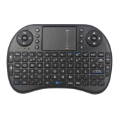 [Kingstore]Mini Wireless Keyboard Multi-media Remote Control Touchpad Handheld Keyboard