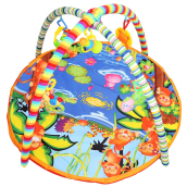 Baby Soft Play Mat Cartoon Animal Gym Blanket