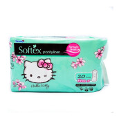 SOFTEX Hello Kitty Panty Liner Forever Fresh 20's+5's