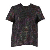 MARKUS LUPFER Sparkle Tweed Tee - Print/ Multi