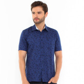 SALT N PEPPER Mens Short Sleeve SNP 151 - Navy