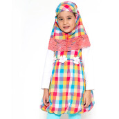 4 YOU Moslem Plaid Dress