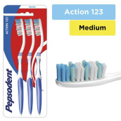 PEPSODENT Action 123 Medium 3pcs
