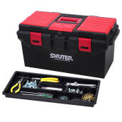 Shuter  Tool Box Professional 30 Kg Perkakas Toolbox TB-800 Red Black