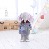 Metoo Cute Babies Plush Toy Doll Stuffed Cartoon Elephant Design