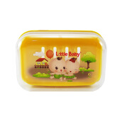 LITTLE BABY Soap Container 1207 - Yellow