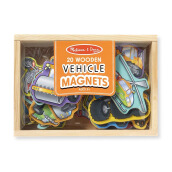 MELISSA & DOUG Magnetic Wooden Vehicles MD-8588