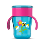 AVENT SCF782/20 9m+ Grown Up Cup - Pink-Blue