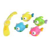 Baby Fishing Game Floating Paddle Bath Tub Toy Suit