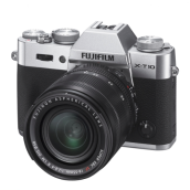 FUJIFILM X-T10 18-55mm lens Mirrorless - Black/Silver