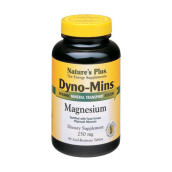 NATURE'S PLUS Dynomins Magnesium 250mg 90pcs