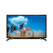 SHARP LED TV 32 Inch - LC-32LE185i - Black