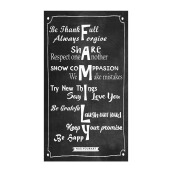 NAIL YOUR ART Family Wall Sign Gantungan Dinding/43 x 24Cm