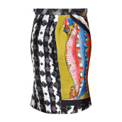 PETER PILOTTO Ava Printed Silk-Blend Skirt [PPI01547C] XS