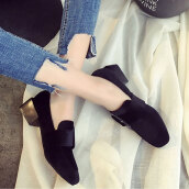 Lovely Black Solid CanvasCanvas Pumps