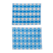 TERRY PALMER Gramadi Towel Mat Set of 2 880g - Blue LP9057RX-NGN-88NN-NBU