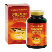 NATURE'S HEALTH Omegacor 75 Softgels