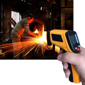 Nice Non-Contact LCD IR Laser Infrared Digital Temperature Thermometer Gun
