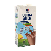 ULTRA Milk Low Fat Coklat 1000ml
