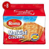 ROMA Malkist Crackers Bag 27g x 8pcs