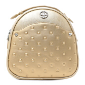 LES CATINO Exxo Solid Backpack - Gold
