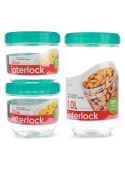 LOCK & LOCK  Interlock Food Storage Set 3 in 1 (INL301S1)