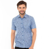 SALT N PEPPER Mens Short Sleeve SNP 139 - Blue