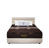Ivaro - Set Springbed Tanaka New Alona Uk180x200cm - Coklat Brown All Size