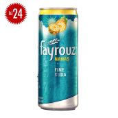 FAYROUZ Pineapple Sleek Can Carton 330ml x 24pcs