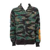 A BATHING APE Tiger Camo Shark Hoodie Brown [ABA01720C] L