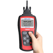 Replaitz Code Reader Auto Scanner Cars Black and Red
