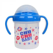(DISCONTINUE) CHUCHU Straw Mug 200 ml Boys