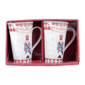 222 FIFTH - Tall Mug - Set of 2 - Nutcraker A