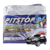 PITSTOP Cover Body Mobil - Jazz / Yaris / Swift / Estilo / X-Over / Sedan Hatch Back - Silver