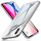 ESR Crystal Clear Soft TPU iPhone X Case, Thin Fit Transparent Flexible Premium TPU Cover for Apple 5.8