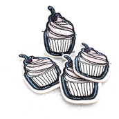 PATCH.INC Cupcake 6x4 cm