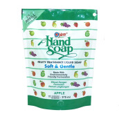 YURI Hand Soap Pouch Apple 375ml