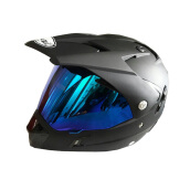 SNAIL 311 (Double Visor) With Revo Blue Visor